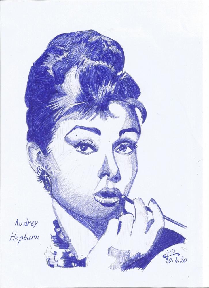 Audrey Hepburn por Patoux